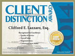Client Distinction Award 2014